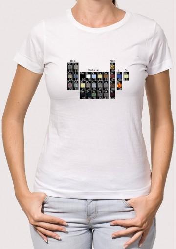 Camiseta Tabla Minecraft