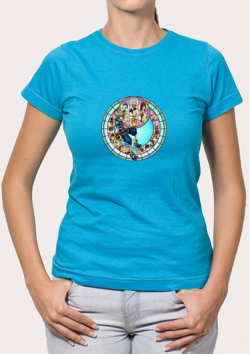 Camiseta Logo Kingdom Heart