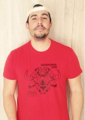 Camiseta Roja El Búfalo