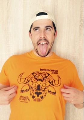 Camiseta Búfalo Naranja