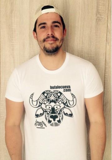 Camiseta El Búfalo Logo Negro