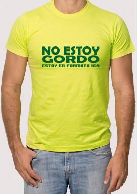 Camiseta no estoy gordo