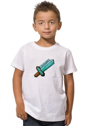 Camiseta Espada Minecraft