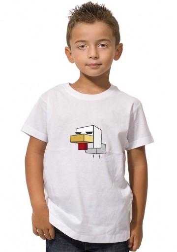 Camiseta Gallina Minecraft