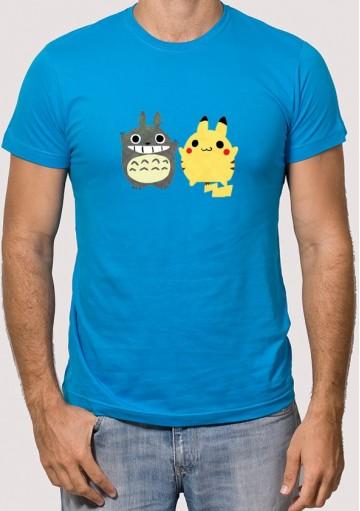Camiseta Totoro Pikachu