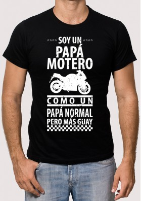 Camiseta Papá Motero