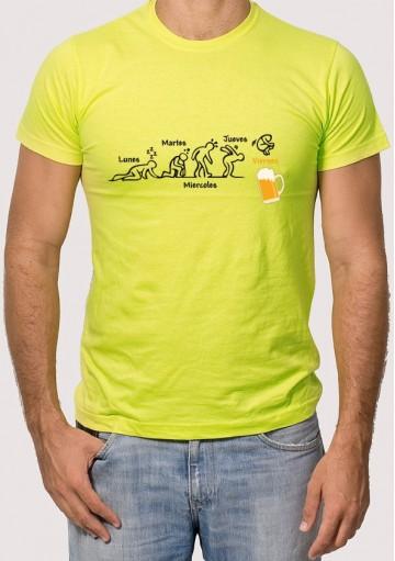 Camiseta Días Semana