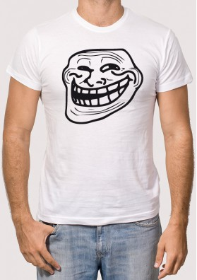 Camiseta Troll Face