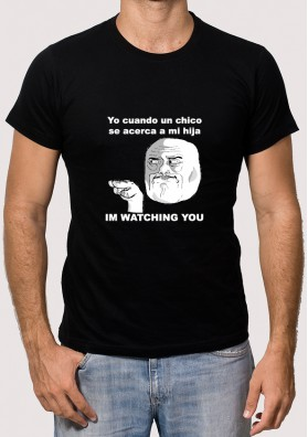 Camiseta Meme Watching U