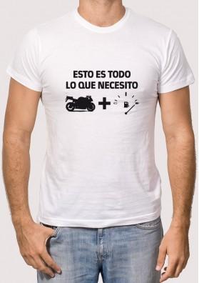 Camiseta Necesita Motero
