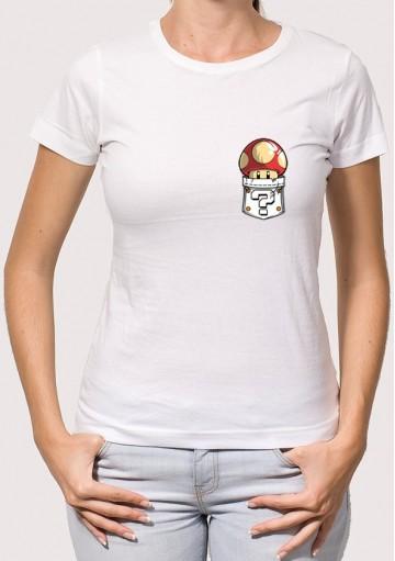 Camiseta Bolsillo Seta