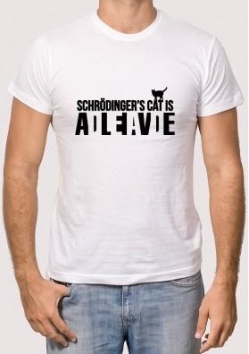 Camiseta Gato Schrodinger