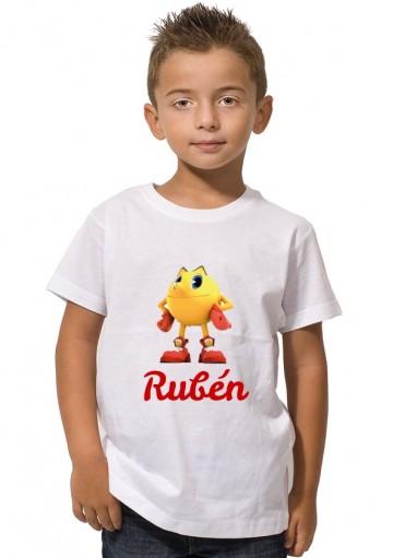 Camiseta Pac- Man Personalizada