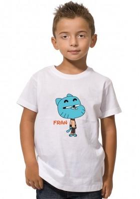 Camiseta Gumball Personalizada