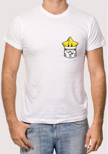 Camiseta Bolsillo Estrella
