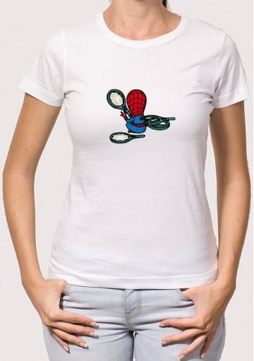 Camiseta Spider Raquetas
