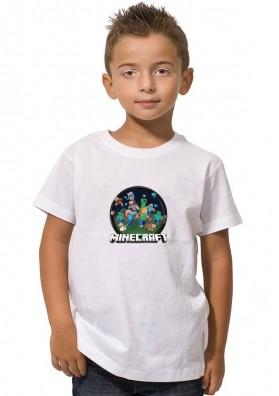 Camiseta Minecraft Círculo