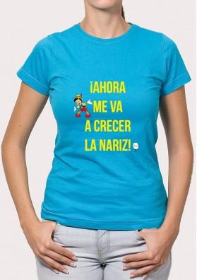 Camiseta Frase Pinocho