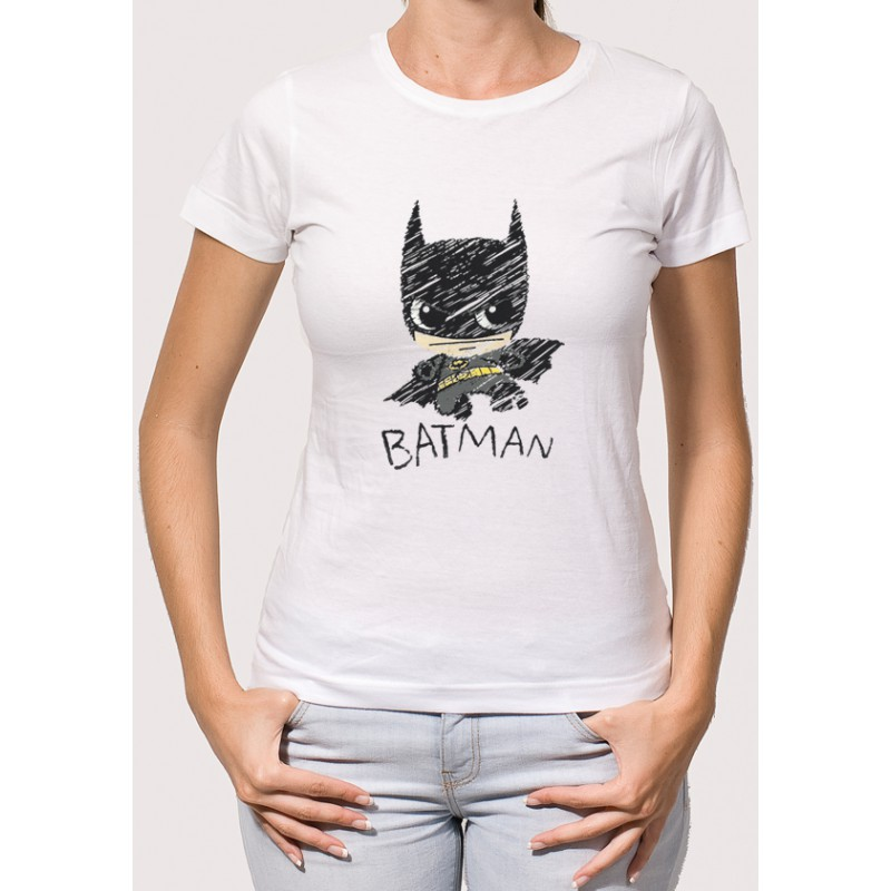 Camiseta Batman Dibujo Camisetas Para