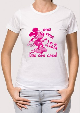 Camiseta Despedida Mickey