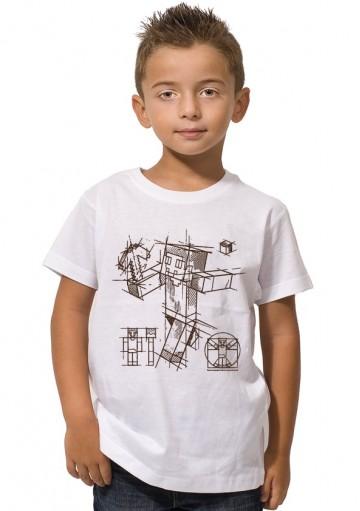 Camiseta Minecraft Dibujo
