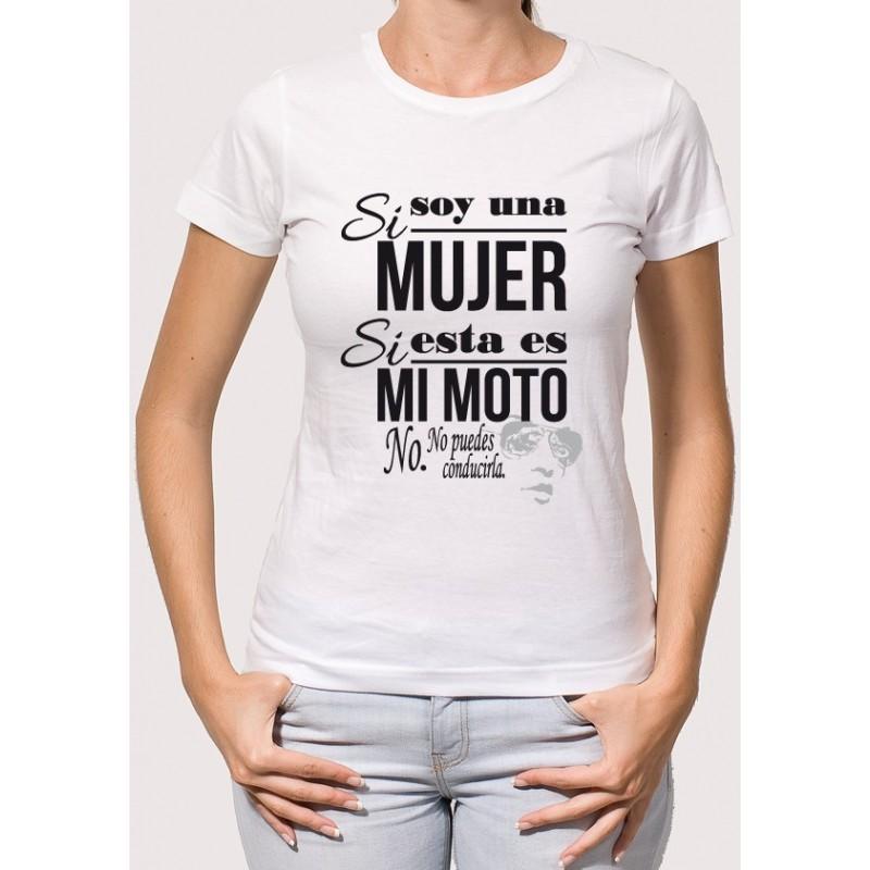 Camiseta Mujer Motera - Camisetas Para 641b549974e09