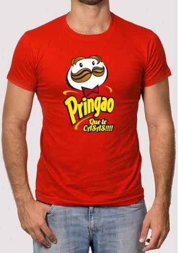 Camiseta Despedidas Pringao que te Casas