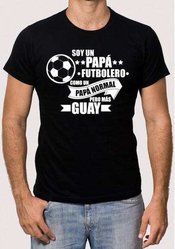 Camiseta Soy un Papá Futbolero