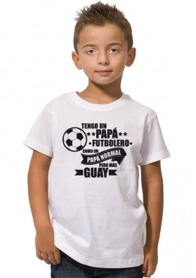 Camiseta Tengo un Papá Futbolero