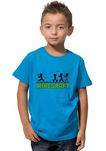 Camiseta Minecraft Sombras