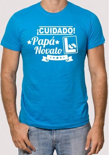 Camiseta Papá Novato