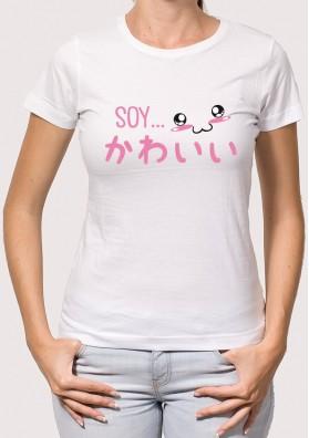 Camiseta Soy Kawaii
