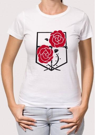 Camiseta Shingeki Rosas