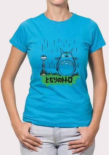 Camiseta Totoro Lluvia