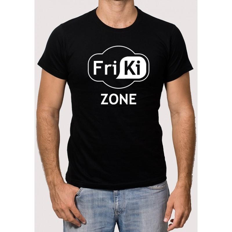 camiseta zona friki - Camisetas Frikis
