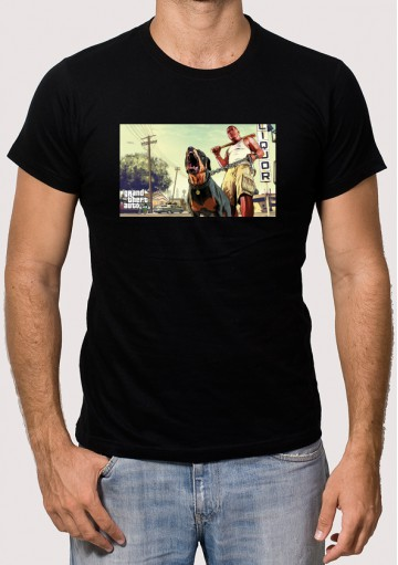 Camiseta GTA 5 Licor