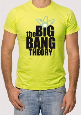 Camiseta Logotipo The Big Bang Theory