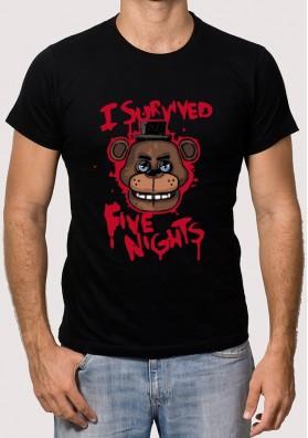 Camiseta Freddy Superviviente