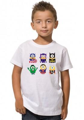 Camiseta Minions Superheroes