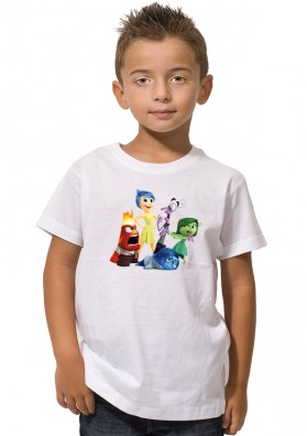 Camiseta Inside Out Personajes