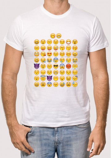 Camiseta Emoticonos Whatsapp