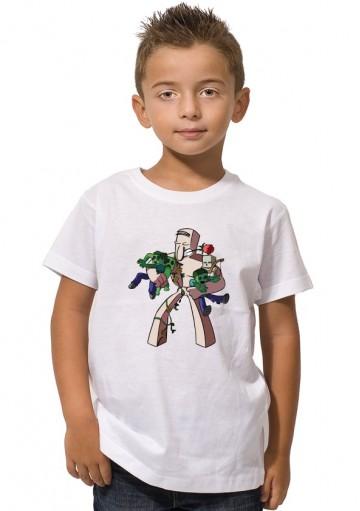 Camiseta Golem Minecraft