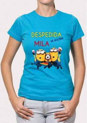 Camiseta Despedida Minions