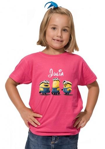 Camiseta Minions Nombre