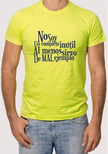 Camiseta Mal Ejemplo