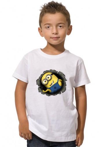 Camiseta Minion Agujero