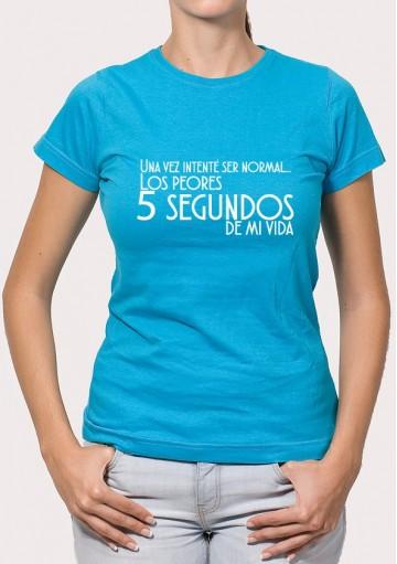 Camiseta Frase Cinco Segundos
