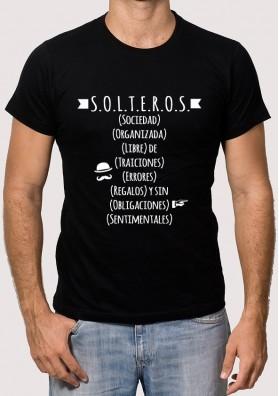 Camiseta Solteros