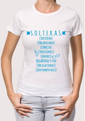 Camiseta Solteras