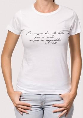 Camiseta frase Oscar W